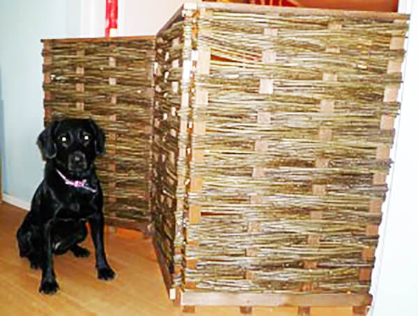 Willow Hurdle Dog Gate