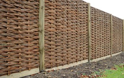 Helpful hints for willow fencing installation